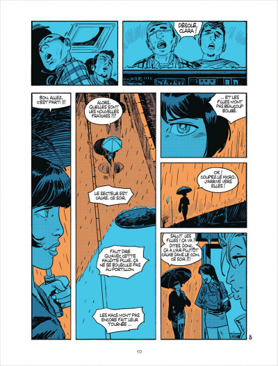 Page 8 Cellule poison tome 2 - qui suis-je ?