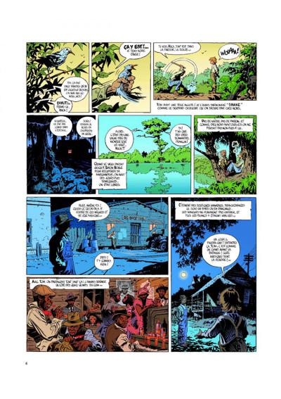 Page 4 O'boys tome 1 - le sang du mississippi