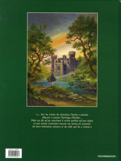 Dos L'héritage d'émilie tome 5 - l'arcane