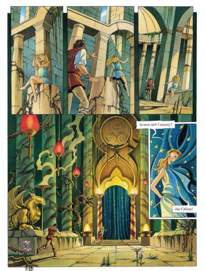 Page 2 L'héritage d'émilie tome 5 - l'arcane