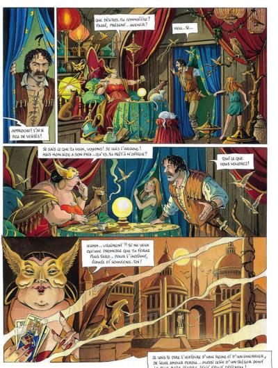 Page 3 L'héritage d'émilie tome 5 - l'arcane
