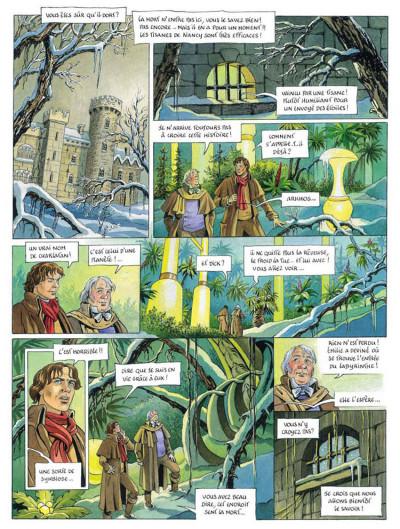 Page 4 L'héritage d'émilie tome 5 - l'arcane