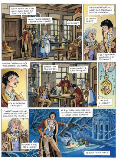 Page 5 L'héritage d'émilie tome 5 - l'arcane