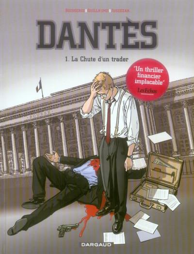 Couverture Dantès tome 1 - la chute d'un trader