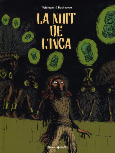 Couverture la nuit de l'inca ; intégrale