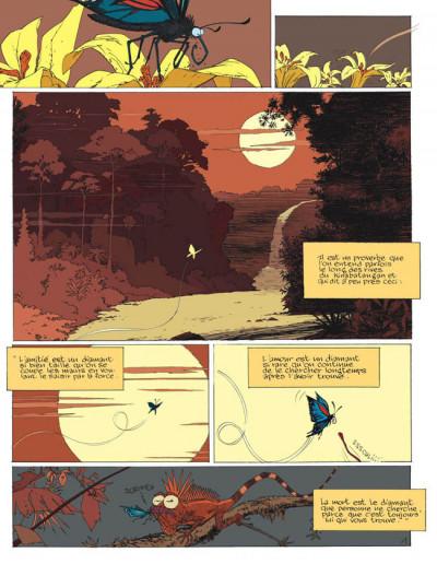 Page 1 les rives du kinabatangan ; le singe qui aimait les fleurs