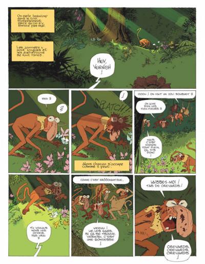 Page 2 les rives du kinabatangan ; le singe qui aimait les fleurs