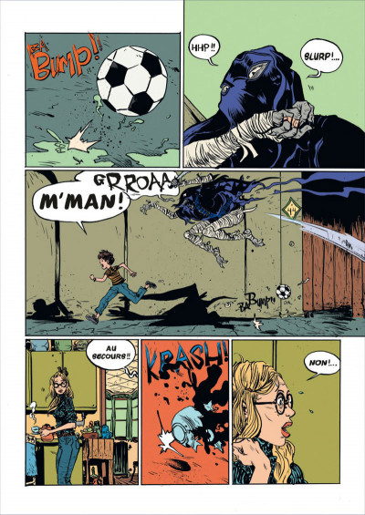 Page 4 Battling boy tome 1