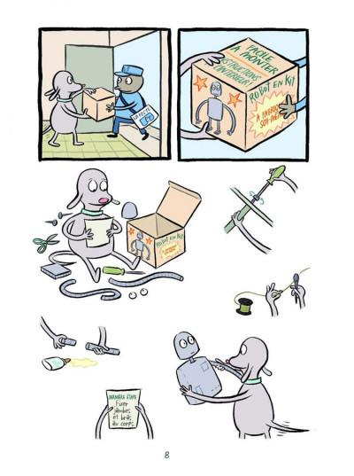 Page 2 Rêves de robot