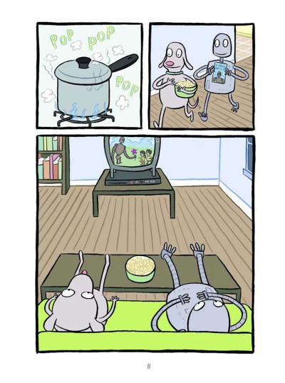 Page 5 Rêves de robot