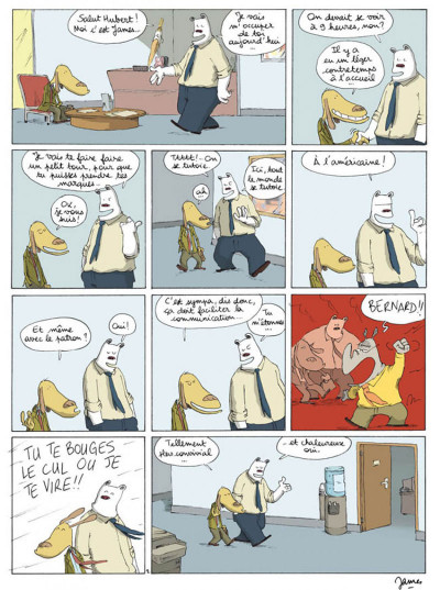 Page 2 Dans mon open space tome 1 - business circus