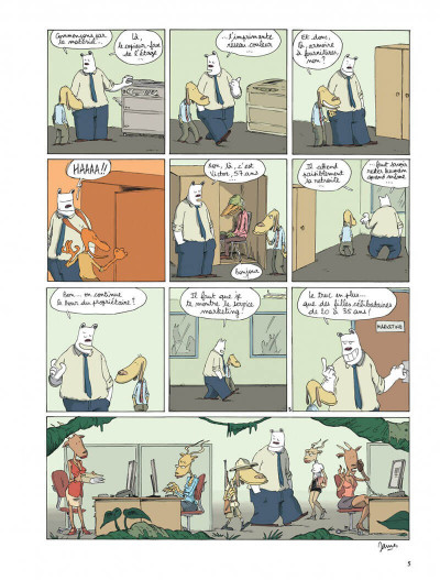 Page 5 Dans mon open space tome 1 - business circus
