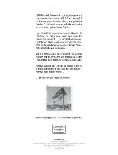 Page 2 W.e.s.t tome 4 - le 46ème état