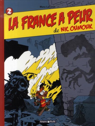 Couverture Nic oumouk tome 2 - la france a peur