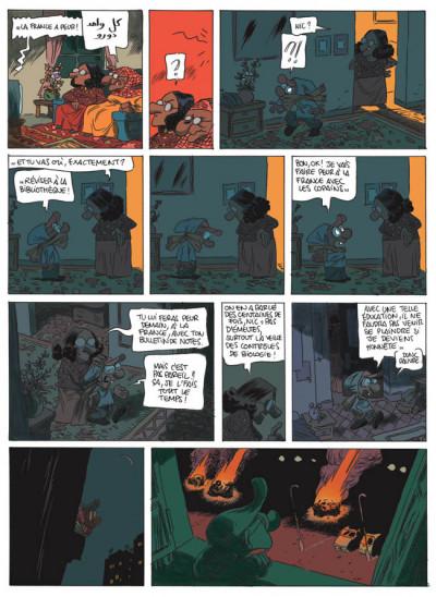 Page 2 Nic oumouk tome 2 - la france a peur