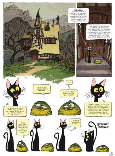 Page 1 Sorcelleries tome 1 - le ballet des mémés
