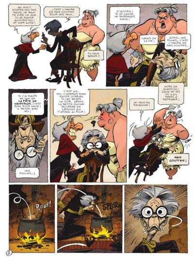 Page 3 Sorcelleries tome 1 - le ballet des mémés