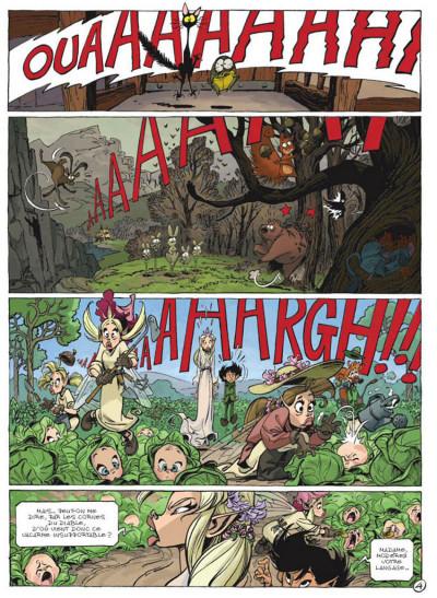 Page 4 Sorcelleries tome 1 - le ballet des mémés