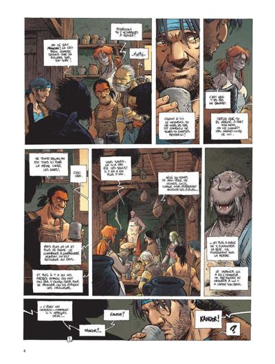 Page 2 La quête de l'oiseau du temps - avant la quête tome 3