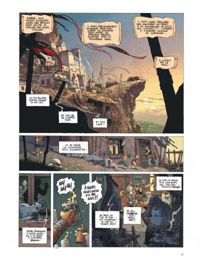 Page 3 La quête de l'oiseau du temps - avant la quête tome 3
