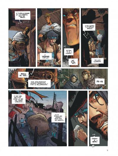 Page 5 La quête de l'oiseau du temps - avant la quête tome 3