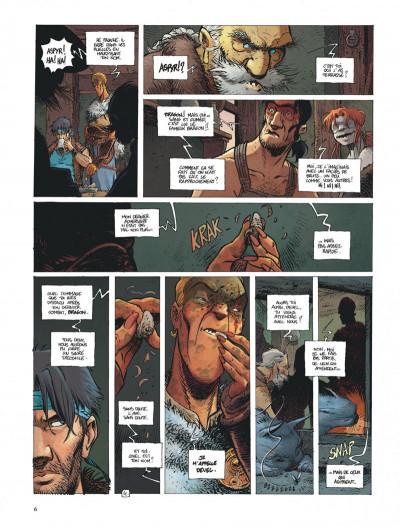 Page 6 La quête de l'oiseau du temps - avant la quête tome 3
