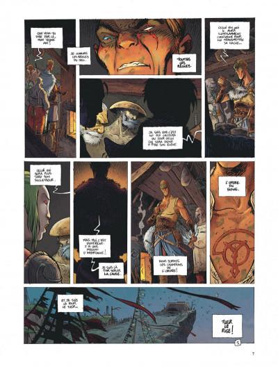 Page 7 La quête de l'oiseau du temps - avant la quête tome 3