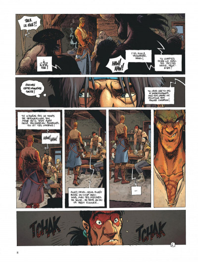 Page 8 La quête de l'oiseau du temps - avant la quête tome 3
