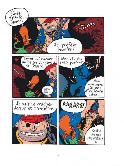 Page 6 Sardine de l'espace tome 1 - platine laser