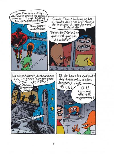 Page 8 Sardine de l'espace tome 1 - platine laser