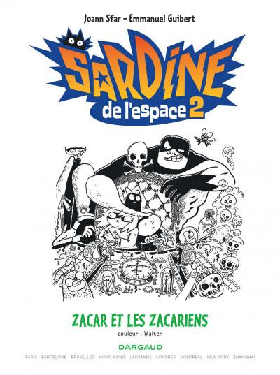 Page 3 Sardine de l'espace tome 2 - zacar et les zacariens