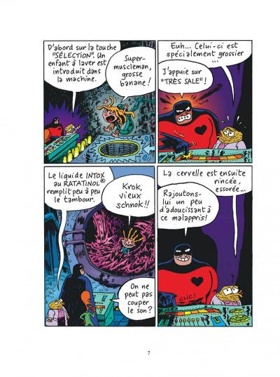 Page 7 Sardine de l'espace tome 2 - zacar et les zacariens