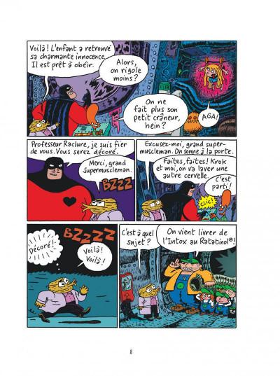 Page 8 Sardine de l'espace tome 2 - zacar et les zacariens