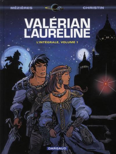 Couverture Valérian - intégrale valérian et laureline tome 1
