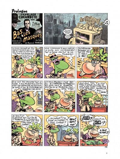 Page 1 Le concombre masqué - le monde fascinant des problèmes