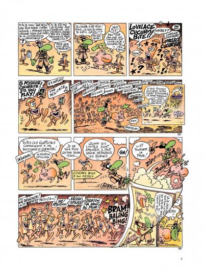 Page 5 Le concombre masqué - le monde fascinant des problèmes
