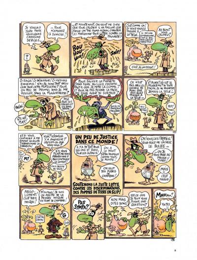 Page 7 Le concombre masqué - le monde fascinant des problèmes