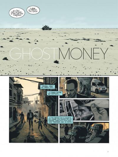 Page 7 Ghost money tome 1 - la dame de dubaï
