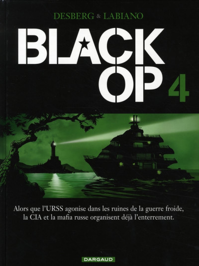 Couverture Black op tome 4