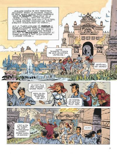 Page 3 Valérian tome 21 - l'ouvretemps