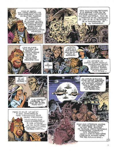 Page 7 Valérian tome 21 - l'ouvretemps