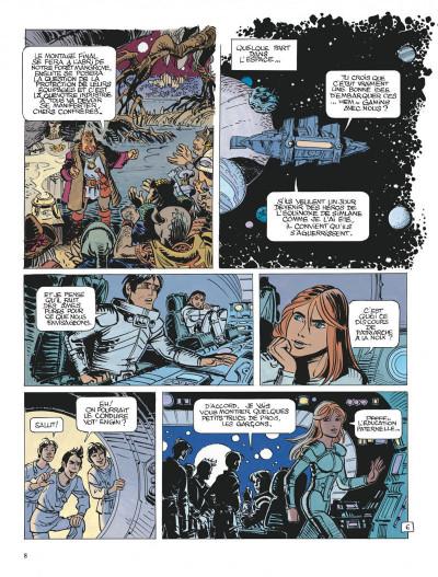 Page 8 Valérian tome 21 - l'ouvretemps