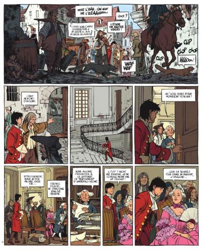 Page 1 Le marquis d'anaon tome 5 - la chambre de khéops