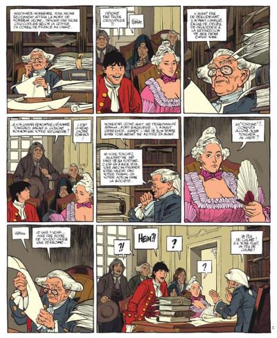 Page 2 Le marquis d'anaon tome 5 - la chambre de khéops