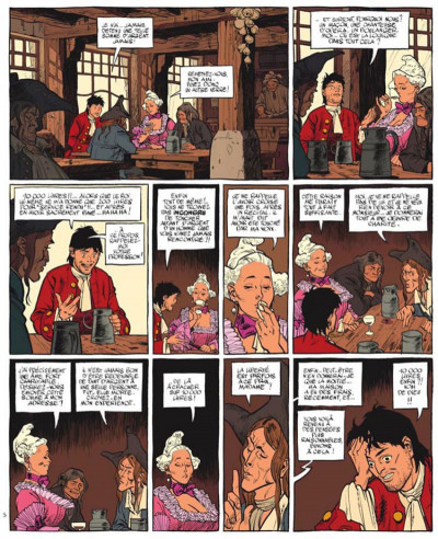 Page 3 Le marquis d'anaon tome 5 - la chambre de khéops