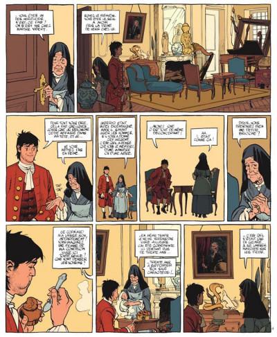 Page 4 Le marquis d'anaon tome 5 - la chambre de khéops