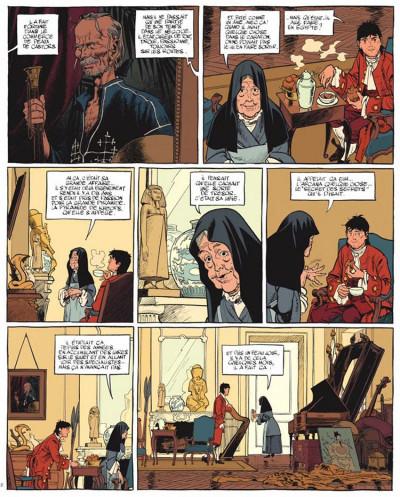 Page 5 Le marquis d'anaon tome 5 - la chambre de khéops