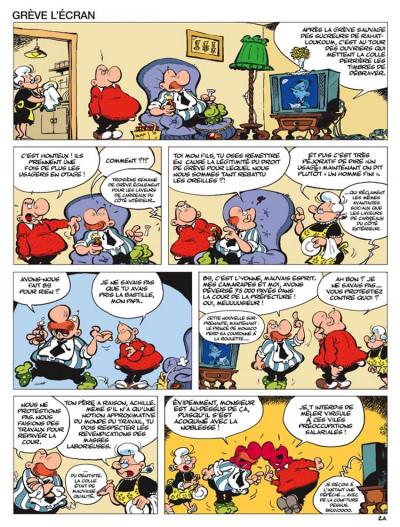 Page 2 Achille talon tome 47 - achille talon crève l'écran