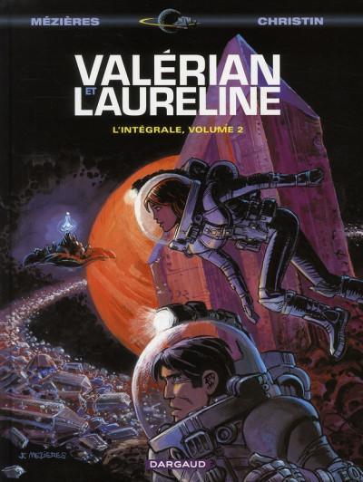 Couverture Valérian - intégrale valérian et laureline tome 2