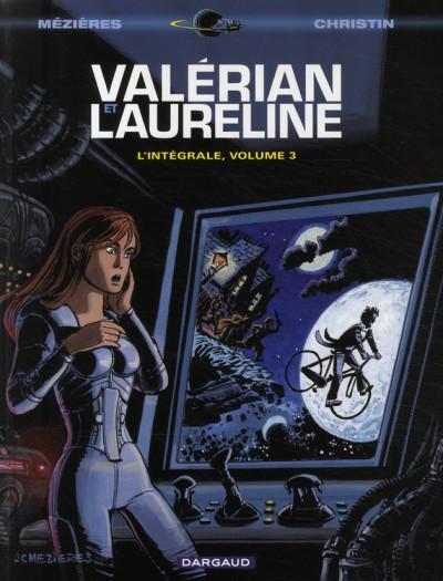 Couverture Valérian - intégrale valérian et laureline tome 3
